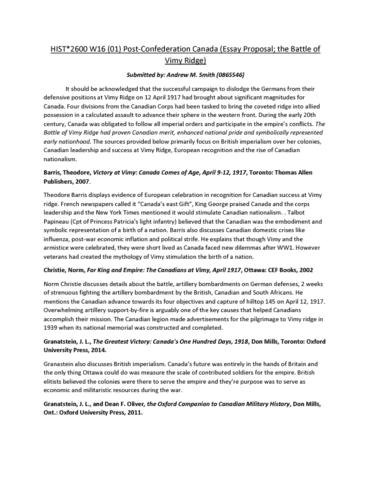 hist-2600-quiz-post-confed-vimy-ridge-proposal-2-
