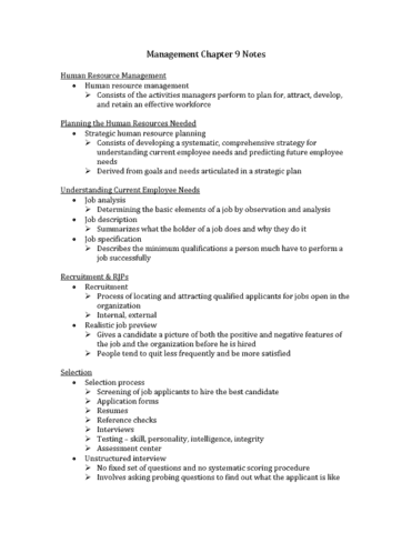 mgt-300-lecture-9-mg-chapter-9-notes