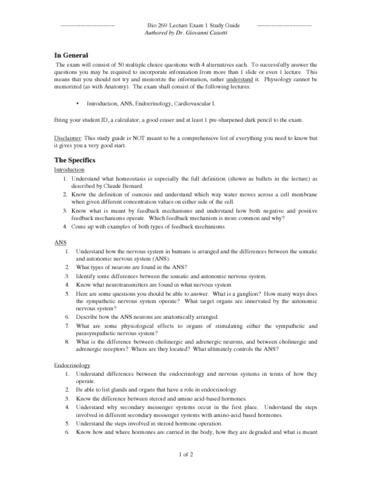 bio-269-quiz-anatomy-2-lecture-exam-1-study-guide