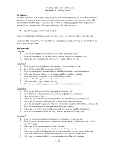 bio-269-final-anatomy-2-lecture-exam-4-study-guide