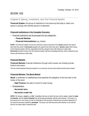 econ-102-lecture-8-econ-102-chapter-8-notes