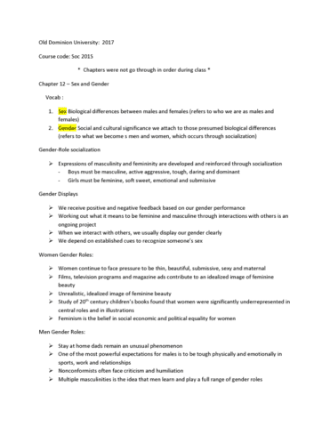 soc-201s-lecture-12-old-dominion-university-soc-201s-notes-chapter-12