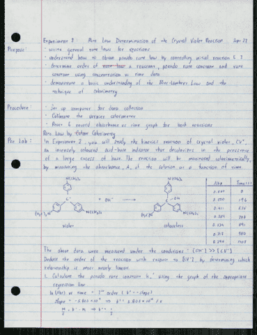 chem-126-lecture-3-experiment-3-rate-law-determination-of-the-crystal-violet-reaction