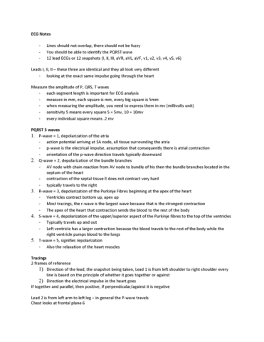 kinesiology-3337a-b-lecture-7-ecg-notes