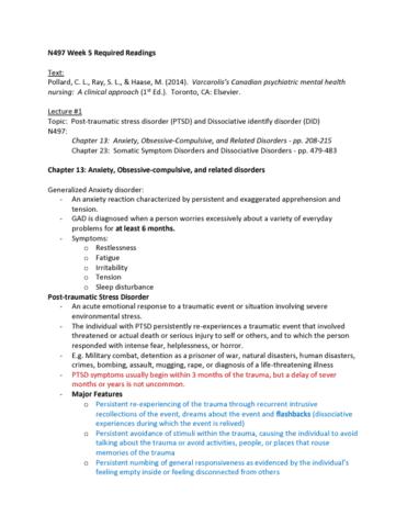 638e92ec9d8f NURS 497 Lecture Notes - Winter 2018
