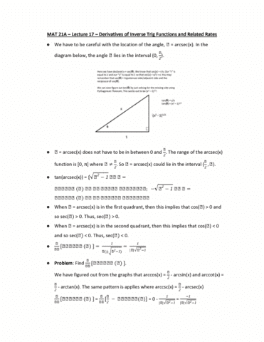 mat-21a-lecture-17-derivatives-of-inverse-trig-functions-and-related-rates