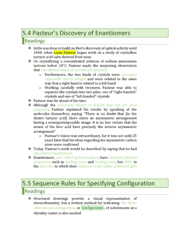 chm136h1-chapter-5-4-5-5-pasteur-s-discovery-of-enantiomers-sequence-rules-for-specifying-configuration
