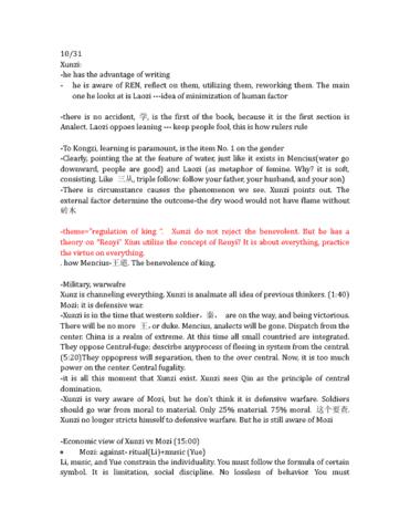 religst-2tt3-lecture-1-10-31-xunzi