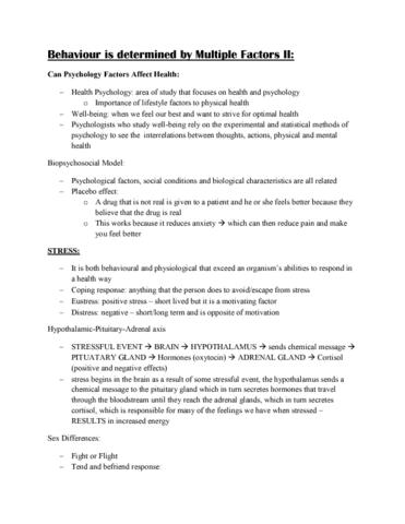 psy100h1-lecture-8-behaviour-determinants