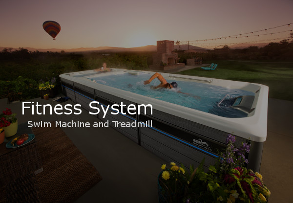 Endless Fitness System With Swim Machine