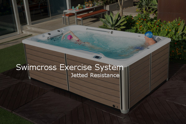 Endless Swimcross Exercise System With Resistance Jets