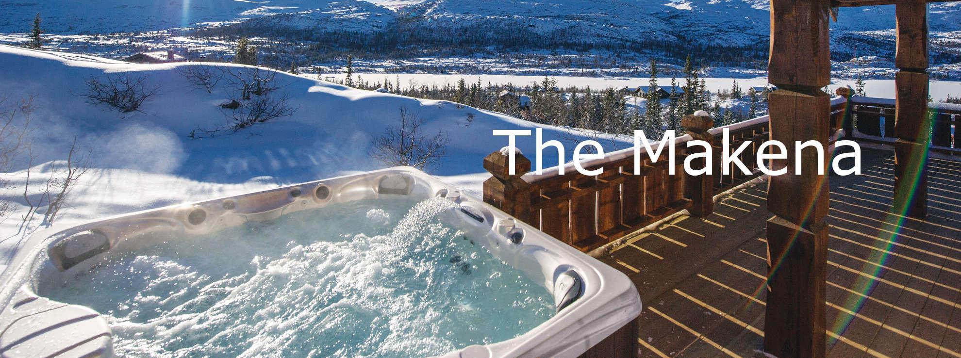 Makena Large Lounger hot tub MA NH