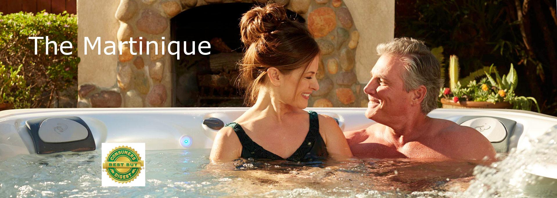 The Caldera Martinique 5 person hot tub AMesbury MA