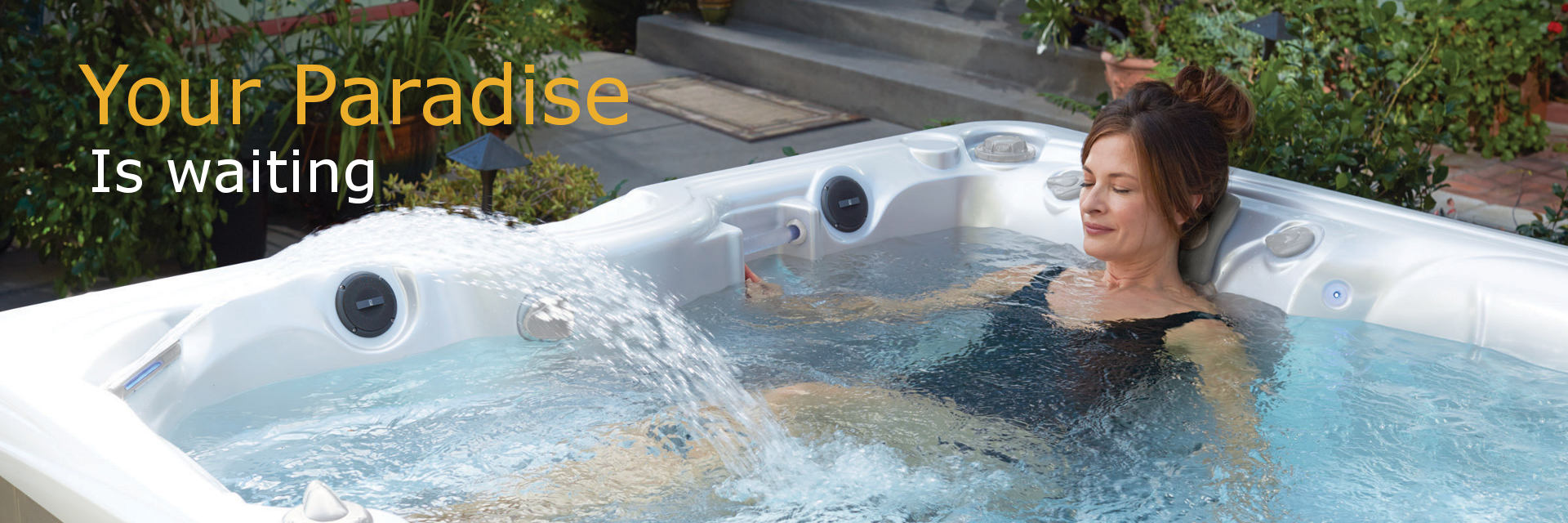 paradise hot tubs by caldera