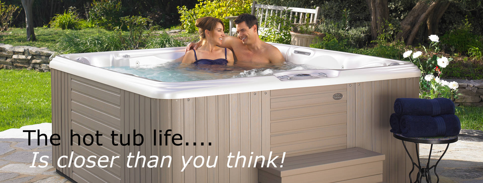 Caldera Vacanza Series Hot Tubs MA and NH