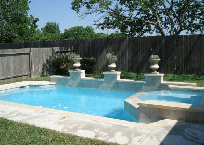 Pool-raised-spa-raised-beam-limestone-coping