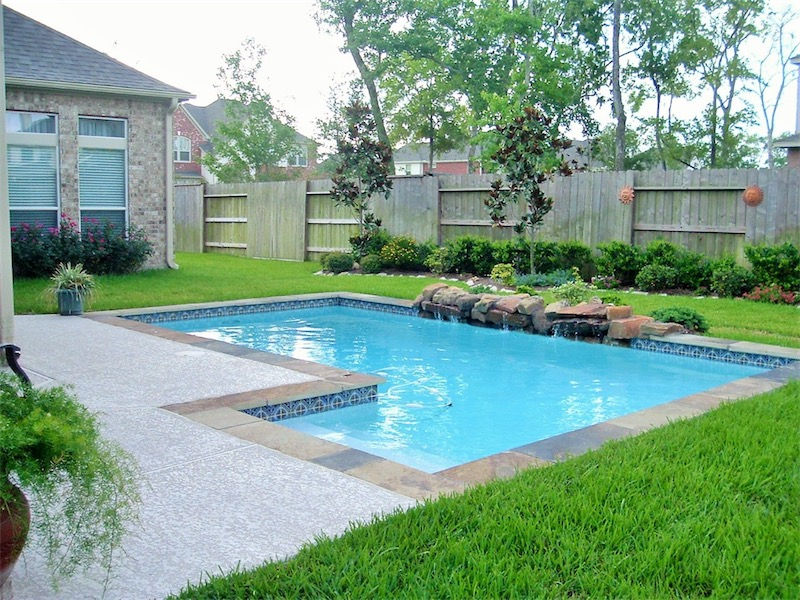 House Under Pool pools under $30k | precision pools & spas | houston, tx