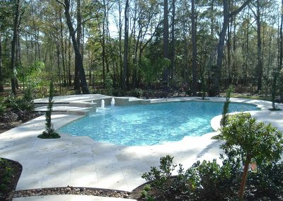 Pool-raised-beam-and-stamped-deck-fountains