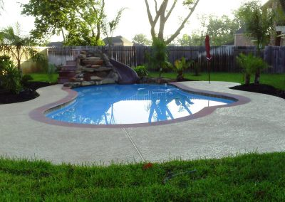Pool-with-Gunite-Waterfall-Slide-Acrylic-Textur-Decking-and-3M-Interior-Finish