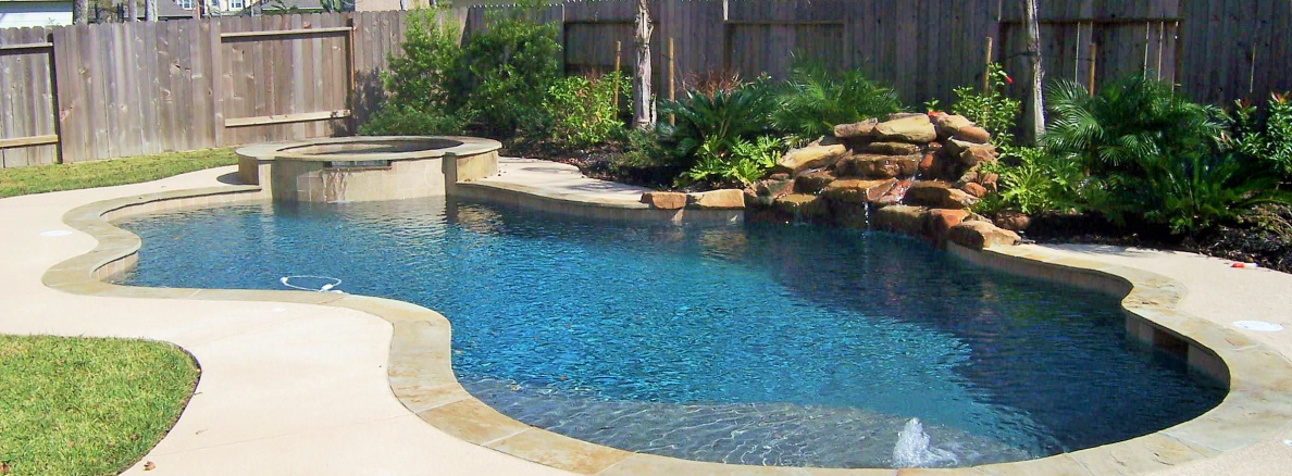 Pools and spas for Custom pool and spa
