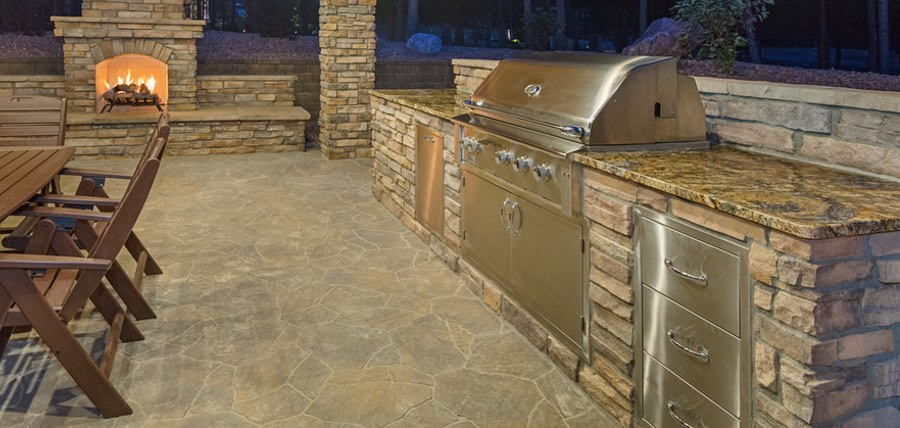 Seven picture perfect outdoor kitchen ideas houston tx for Picture perfect kitchens