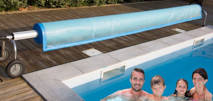 Heat your pool the cost efficient way save heat loss - Heated swimming pool running costs ...