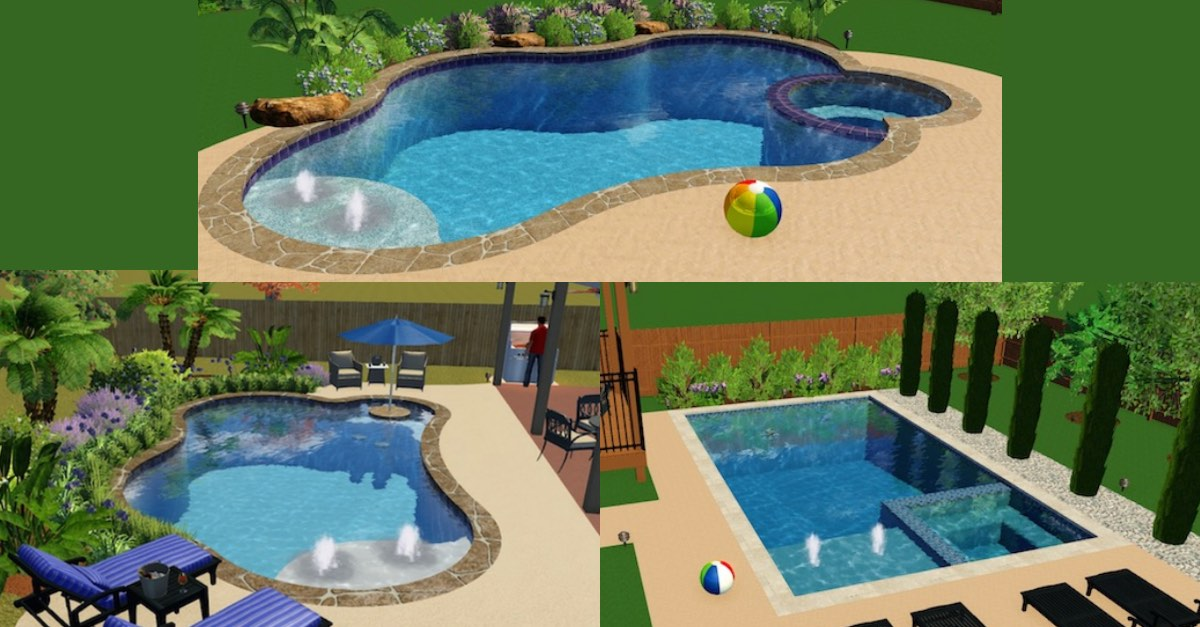Inexpensive and Simple Pool Designs for Inground Pools ...