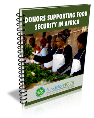 Donor supporting Food Security in Africa