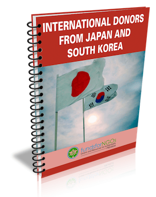 International Donors from Japan and South Korea
