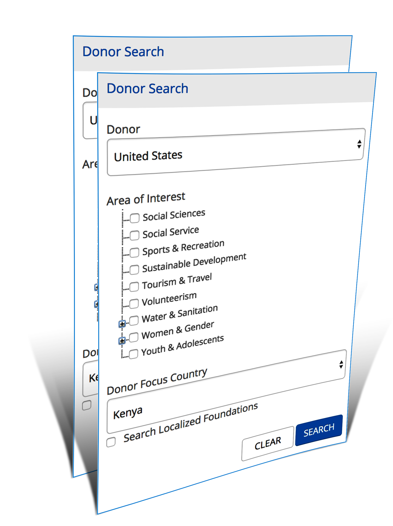 Donor Search