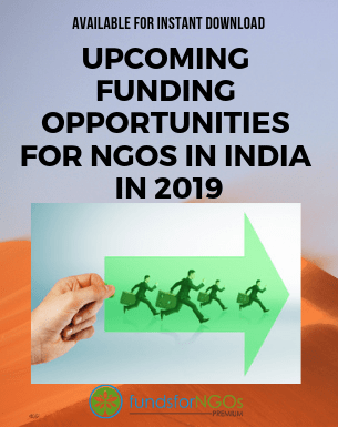 'Upcoming Funding Opportunities for NGOs in India in 2019'