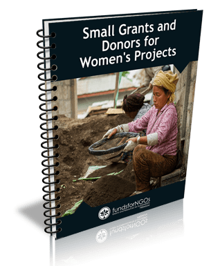 Small Grants and Donors for Women's Projects