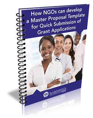 Download Free PDF: How NGOs can develop a Master Proposal Template for Quick Submission of Grant Applications