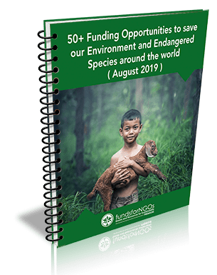 50+ Funding Opportunities to Save our Environment and Endangered Species around the world