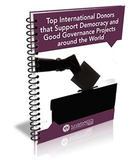Top International Donors that Support Democracy and Good Governance Projects around the World