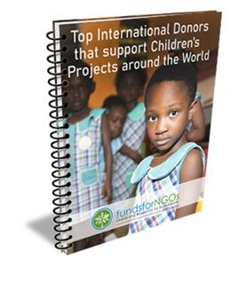 Top International Donors that support Children's Projects around the World