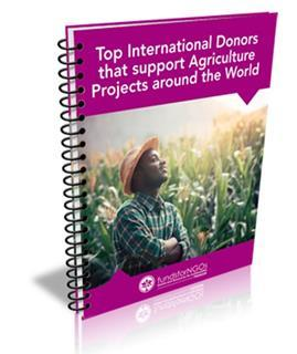 Top International Donors that support Agriculture Projects around the World