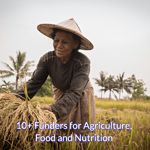 10+ Funders for Agriculture, Food and Nutrition