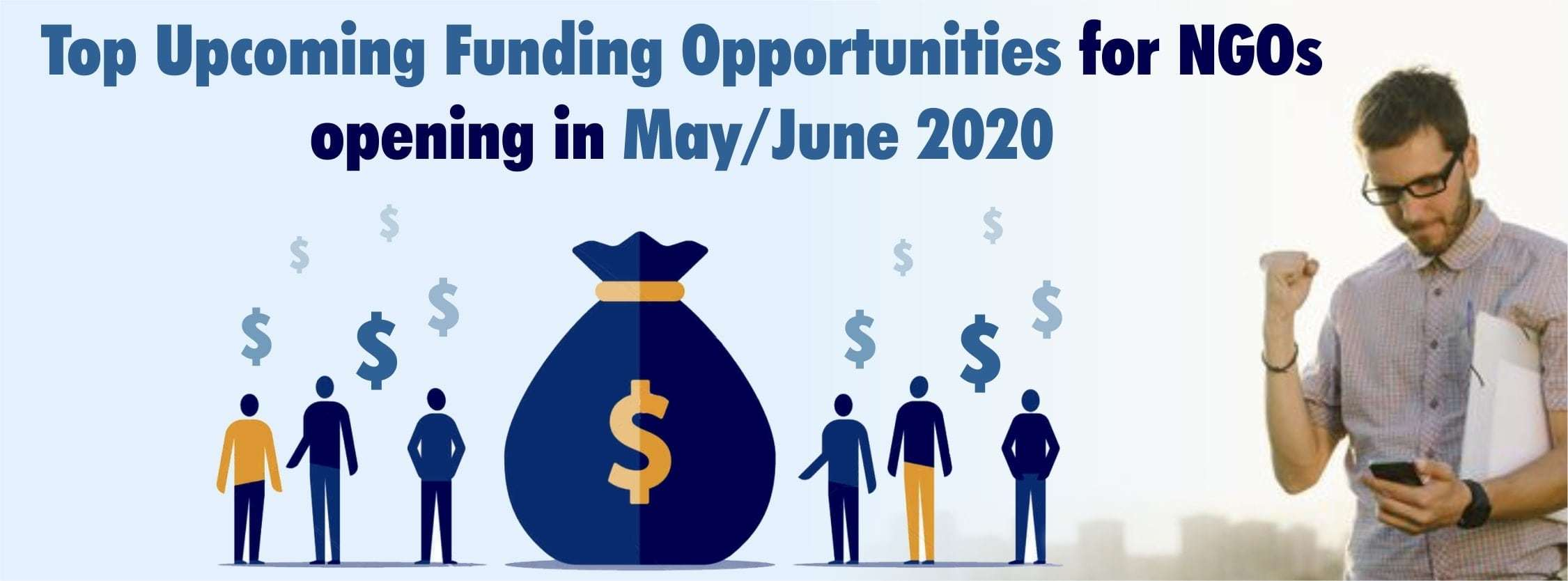 Top Upcoming Funding Opportunities for NGOs opening in May/June 2020