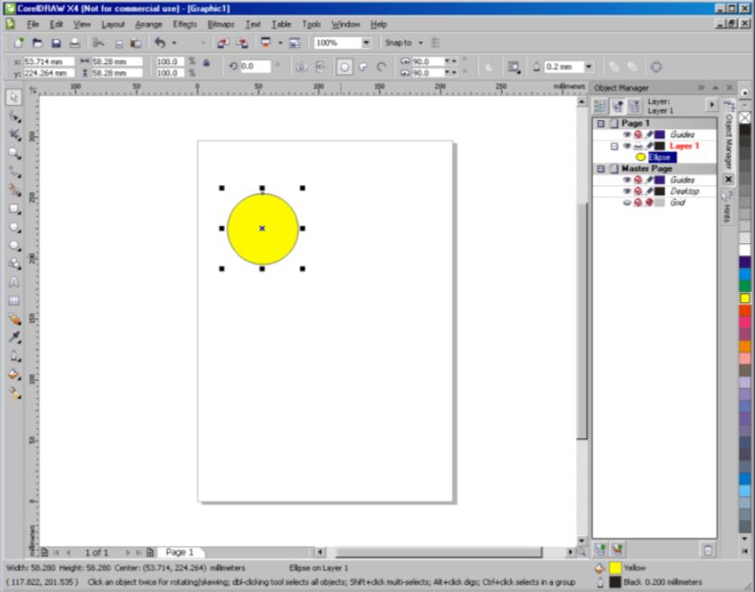 Corel Draw X4 - University of York - Corel Draw X4 - University of York