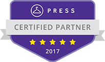 Press Cleaners Certified Partner Badge