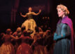 Patti Murin (Anna), Caissie Levy (Elsa) and the Company of FROZEN on Broadway - Lift