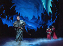 Joe Carroll as Hans in FROZEN on Broadway