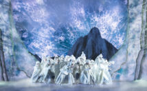 The Company of FROZEN on Broadway