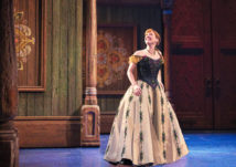 Patti Murin as Anna in FROZEN on Broadway