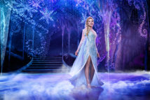 Ciara Renee as Elsa in FROZEN on Broadway