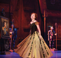 McKenzie Kurtz as Anna in FROZEN on Broadway