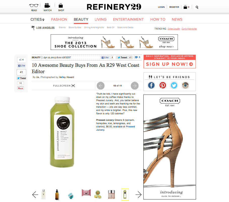 Refinery29: 10 Awesome Beauty Buys From An R