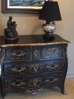 Beautifully detailed chest of drawers