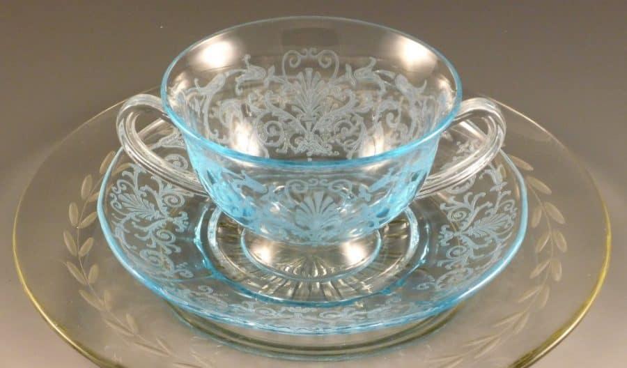 Buying Estate Fostoria Glass Collectibles